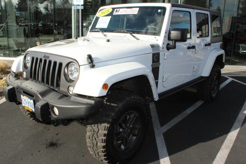 Pre-Owned 2018 Jeep Wrangler JK Unlimited Freedom Edition